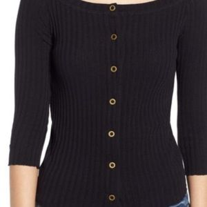 PST Fall 'no turning back' reversible sweater top